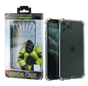 Atouchbo iPhone 11 Pro Max Case Transparent - Anti-Shock