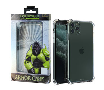 Atouchbo iPhone 11 Pro Max Hoesje Transparant - Anti-Shock