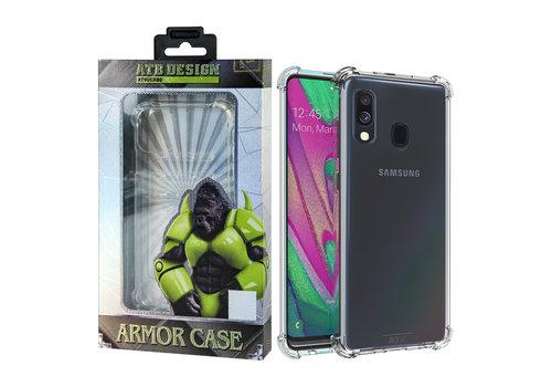 Samsung A50 Hoesje Transparant - Anti-Shock