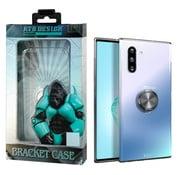 Atouchbo Samsung Note 10 Hoesje Transparant met Ring en Magneet