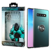 Atouchbo Samsung S10 Plus Case Transparent with Ring and Magnet