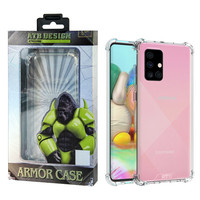 ATB Design Anti Shock Hülle TPU + PC Samsung A71 Transparent