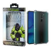 Atouchbo Redmi Note 8 Pro Case Transparent - Anti-Shock