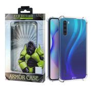 Atouchbo Redmi Note 8 Case Transparent - Anti-Shock