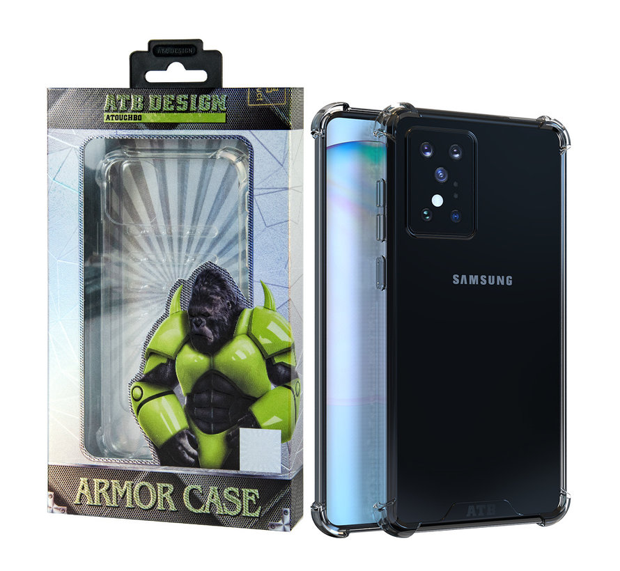 Samsung S20 Plus Hoesje Transparant - Anti-Shock