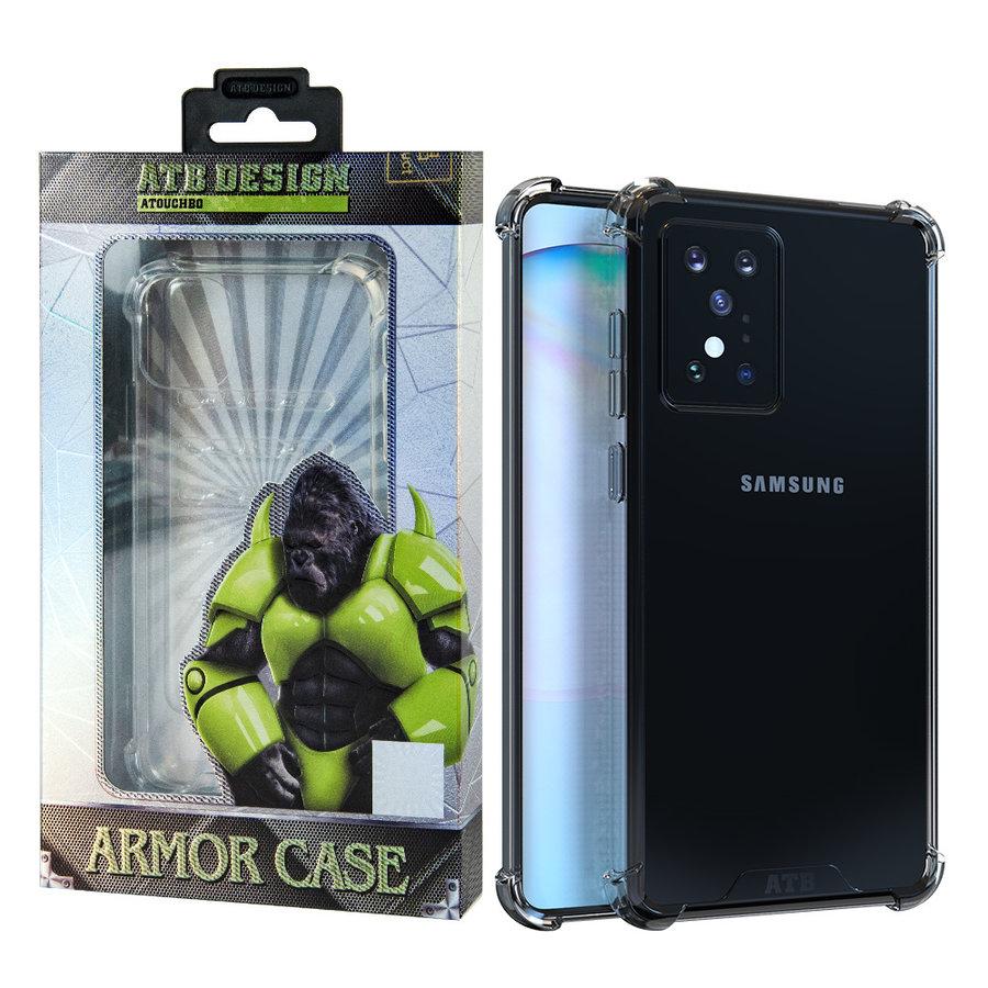 Anti Shock Case TPU+PC Samsung S20 Plus Transparant