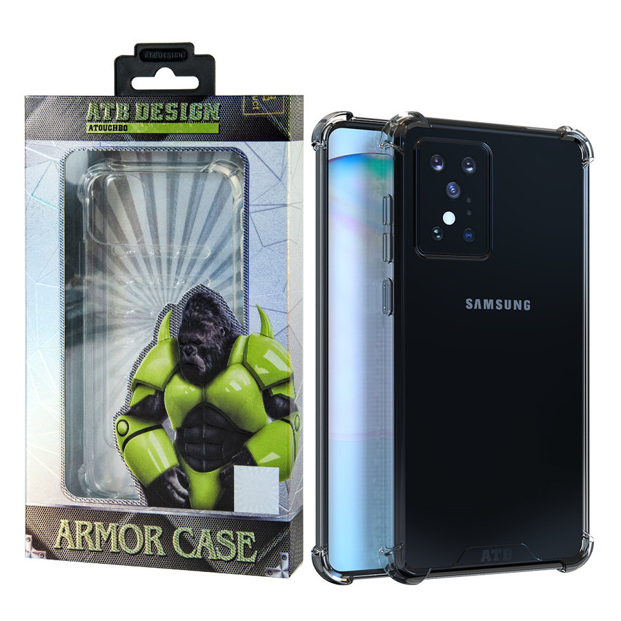 Samsung S20 Plus Hoesje Transparant - Anti-Shock