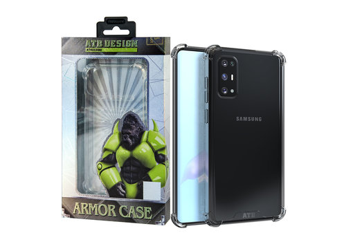 Samsung S20 Hoesje Transparant - Anti-Shock