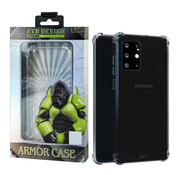 Atouchbo Samsung S20 Ultra Case Transparent - Anti-Shock