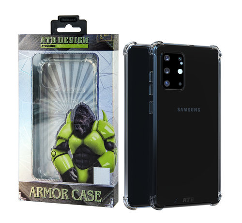 Atouchbo Samsung S20 Ultra Hoesje Transparant - Anti-Shock