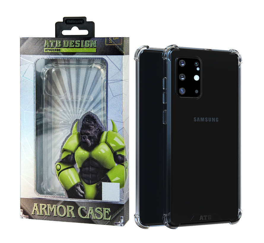 Samsung S20 Ultra Hoesje Transparant - Anti-Shock