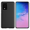 Colorfone Hoesje CoolSkin Slim TPU Case voor Samsung S20 Zwart