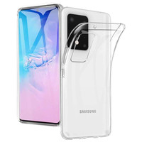 Hoesje Coolskin3T TPU Case voor Samsung S20 Ultra Transparant Wit