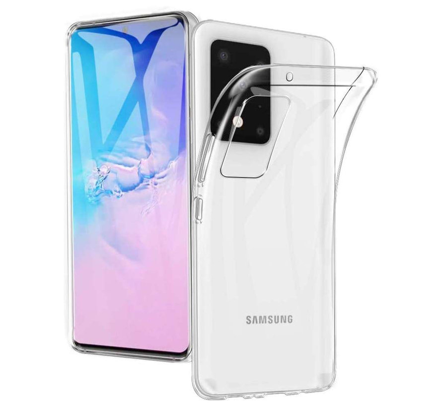Samsung S20 Ultra Hoesje  Transparant - CoolSkin3T