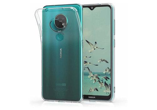 Nokia 6.2 - 7.2 Hoesje Transparant - CoolSkin3T