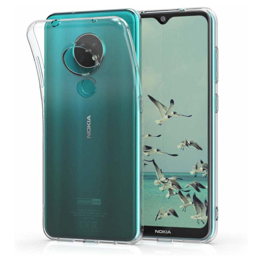 Hoesje CoolSkin3T TPU Case voor Nokia 6.2/7.2 Tr. Wit