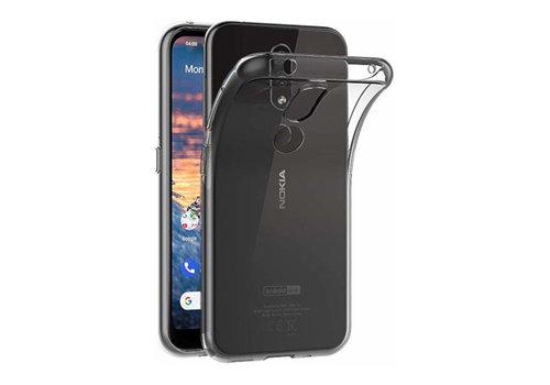 Nokia 4.2 Hoesje Transparant - CoolSkin3T