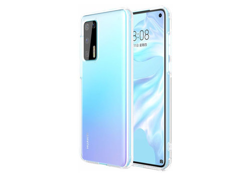 Huawei P40 Lite Hoesje Transparant - CoolSkin3T