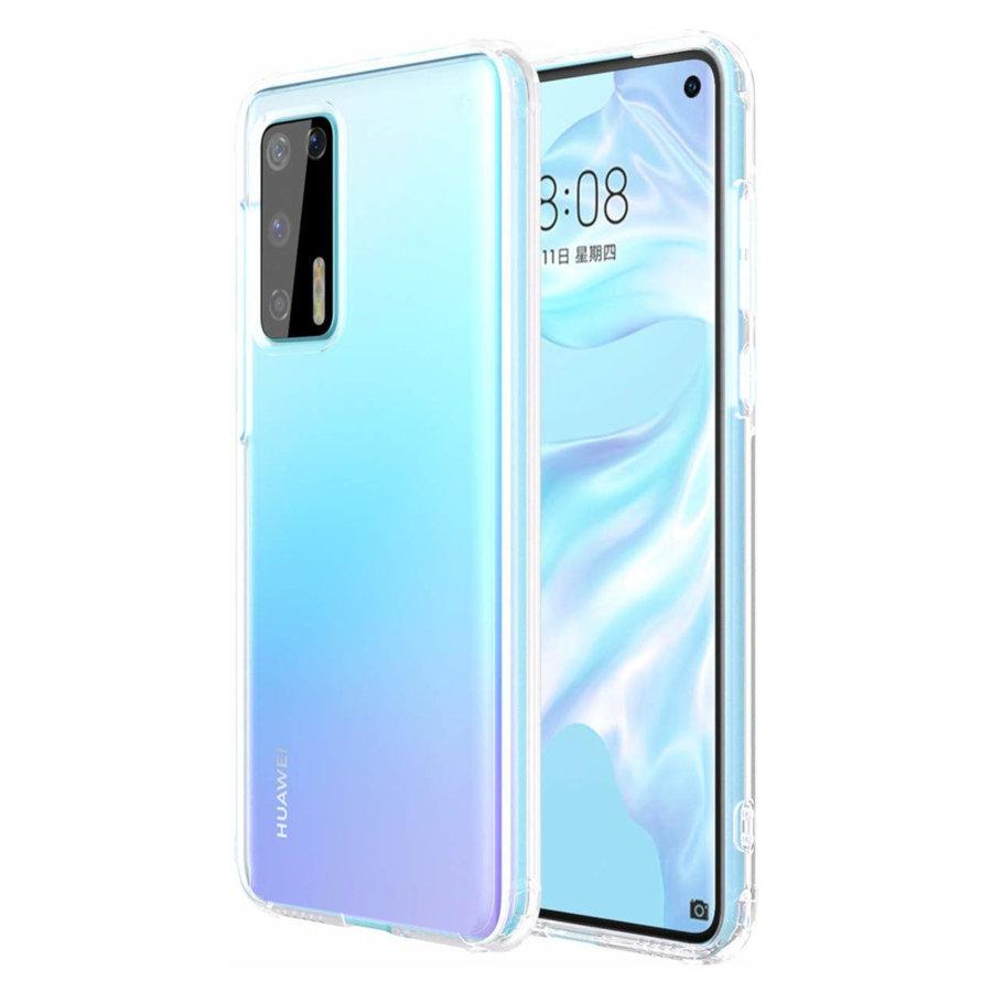 Hoesje CoolSkin3T TPU Case voor Huawei P40 Tr. Wit