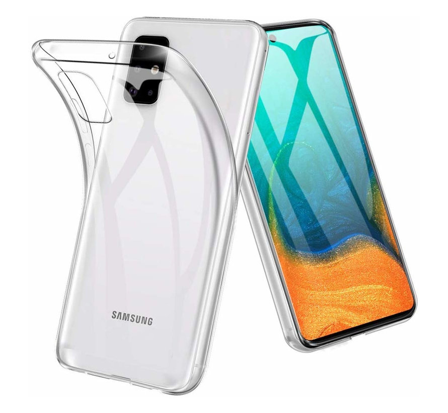 Samsung A71 Hoesje Transparant - CoolSkin3T