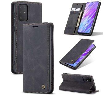 CaseMe Retro Wallet Slim voor S20 Plus Zwart