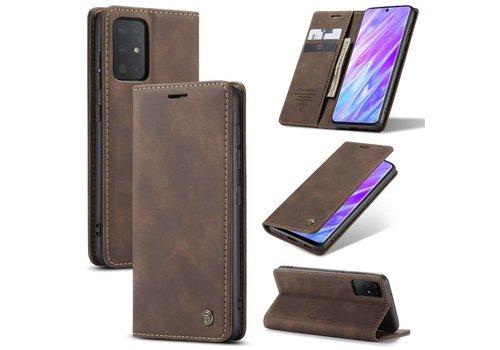 Retro Wallet Slim für S20 Plus Braun