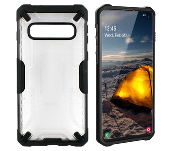 Colorfone Samsung S10 Plus  Hoesje Transparant - Shield