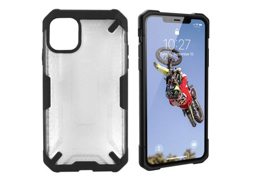 iPhone 11  Hoesje Transparant - Shield