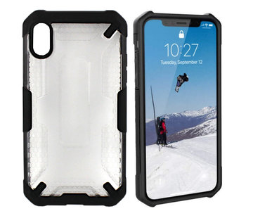 Colorfone iPhone Xs Max  Hoesje Transparant - Shield