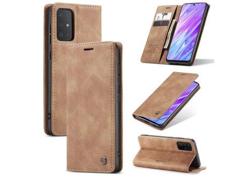 Retro Wallet Slim for S20 Plus L.Brown