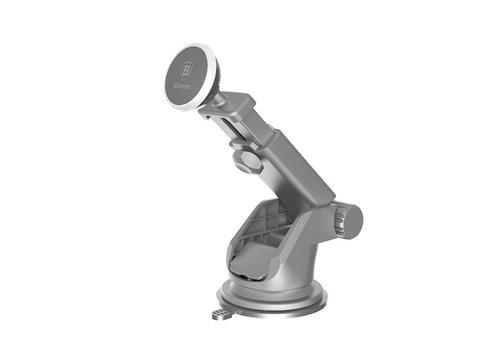 Carholder Telescoop Magnet Roteerbaar Universal Silver