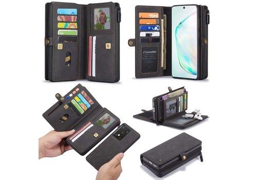 Samsung S20 Ultra Hoesje Zwart - Multi Wallet Case