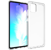 Colorfone Samsung Note 10 Lite Hoesje Transparant - CoolSkin3T