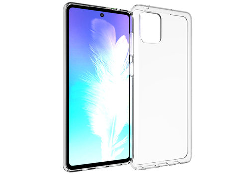 Samsung Note 10 Lite Hoesje Transparant - CoolSkin3T