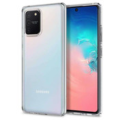 Colorfone Samsung S10 Lite Hoesje Transparant - CoolSkin3T