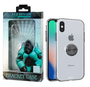 Atouchbo iPhone 8 Plus and 7 Plus Case Transparent - Ring holder + Magnet