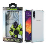 Atouchbo Samsung A20 - A30 Hoesje Transparant - Anti-Shock