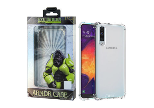 Samsung A20 - A30 Hoesje Transparant - Anti-Shock