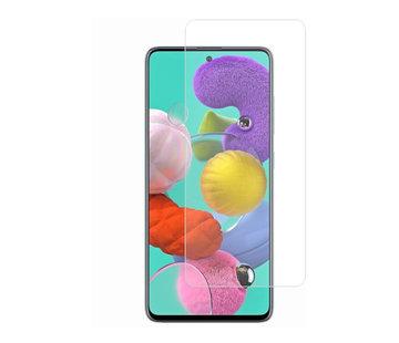 Colorfone Samsung A71 Screenprotector Glas 9H