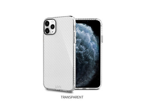 iPhone 11 Pro Max Hoesje Transparant - HoneyComb