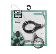 Atouchbo Ring Houder Touwtje Zwart