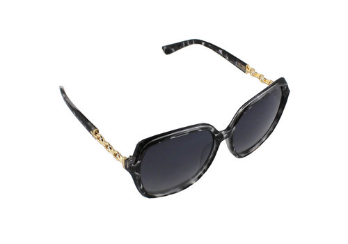 Sunglasses Square - Leopard Black