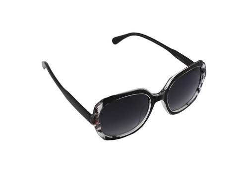 Sunglasses Square - Black Transparent