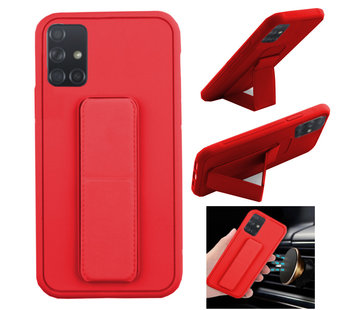 Colorfone Samsung A71 Hoesje Rood - Grip