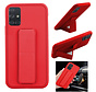 Samsung A71 Hoesje Rood - Grip