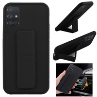 BackCover Grip for Samsung A71 Black