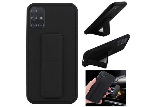 Grip Samsung A71 Zwart