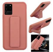 Colorfone Samsung S20 Plus Hoesje Roze - Grip