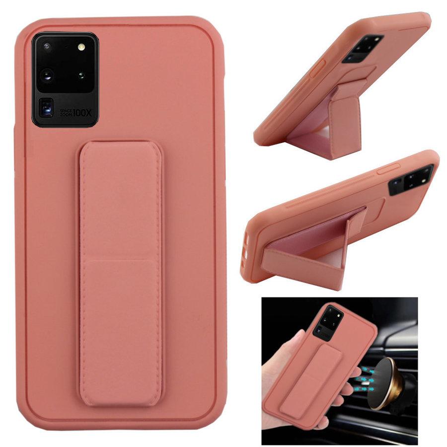 BackCover Grip voor Samsung S20 Plus Roze