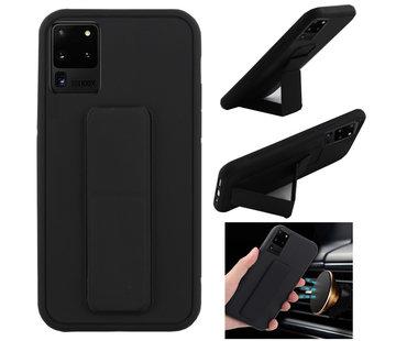 Colorfone Samsung S20 Plus Hoesje Zwart - Grip